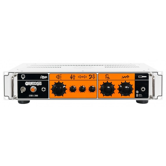 Orange OB1-300 300w Bass Head with 'Bi-Amped' Design