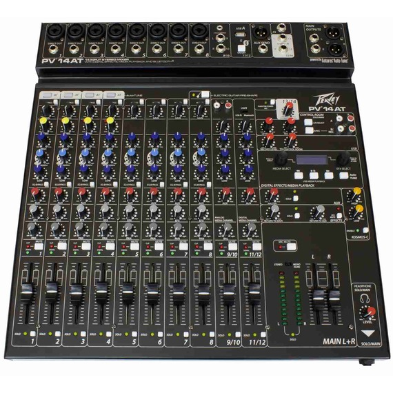 Peavey PV 14 AT - 14 Channel Mixer with Auto-Tune
