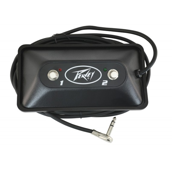 Peavey 2 Button Multi Purpose Footswitch With Led