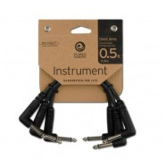 "Planet Waves 6"" Classic Series 1/4"" Patch Cable - 3-Pack"