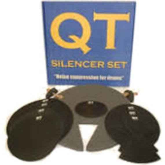 Qt Drum Silencer Set - Fusion/Rock Sizes