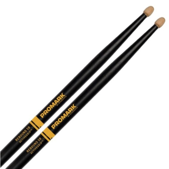 Promark Rebound 5B ActiveGrip Acorn Drum Sticks