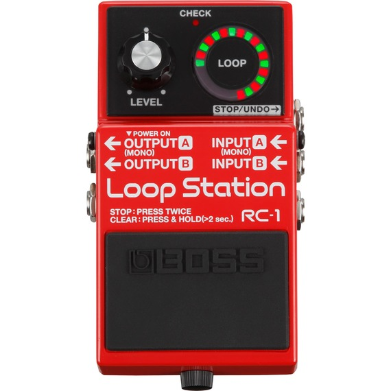 Boss RC1 Loop Station - Loop Pedal