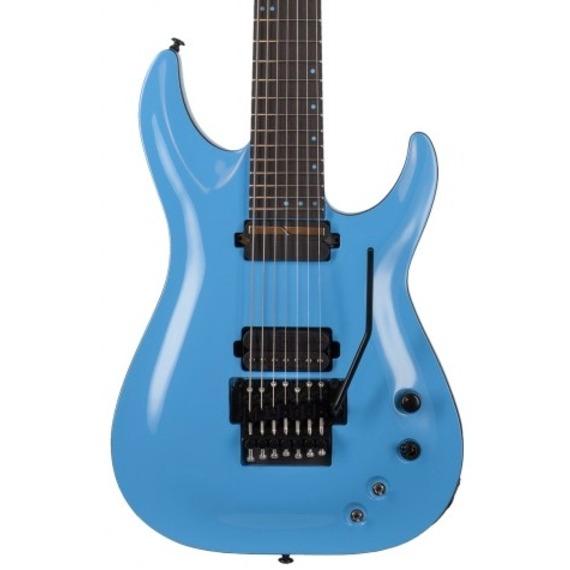 Schecter Keith Merrow KM-7 FR S - Lambo Blue