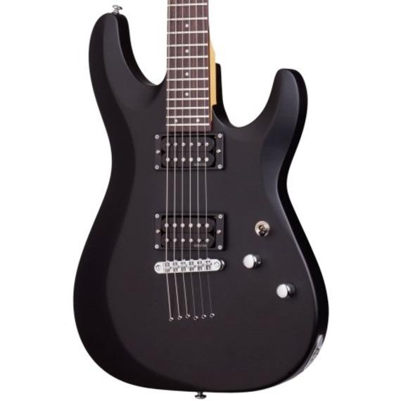 Schecter C6 Deluxe Electric Guitar - Satin Black