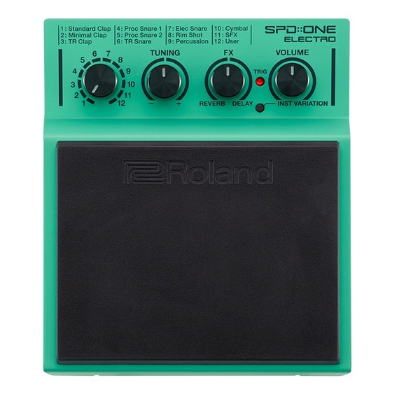 Roland SPD::ONE Electro - Trigger Percussion Pad