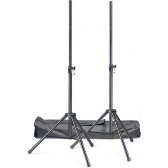 Stagg SPSQ10 Set of Speaker Stands with Carry Bag