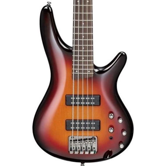 Ibanez SR375E 5 String Bass - Aged Whiskey Burst