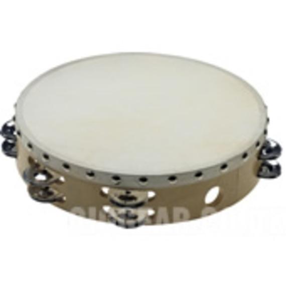 "Stagg Wooden Tambourine - 10"""