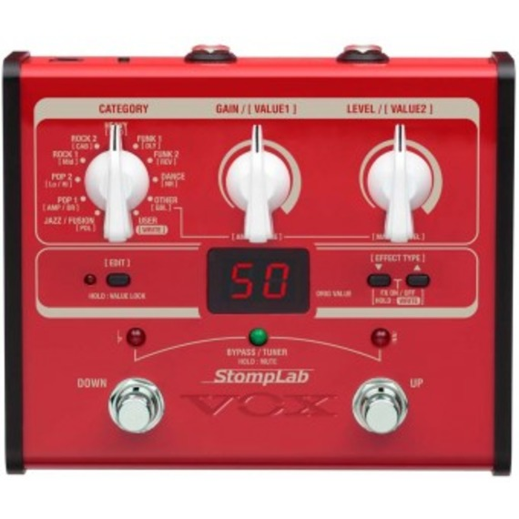 Vox StompLab IB Bass Multi Effects Pedal