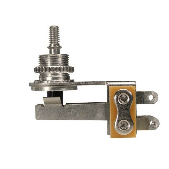 Switchcraft Angled Toggle Switch - 3 Way Nickel