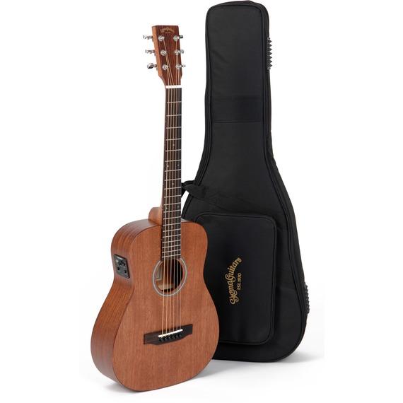 Sigma TM15e+ Travel Electro Acoustic Guitar - Mahogany