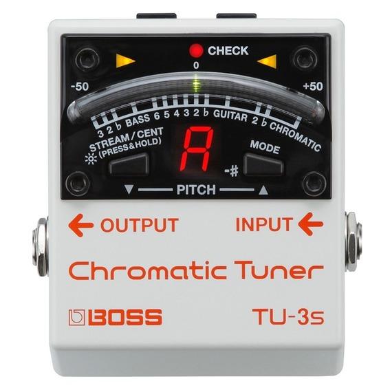 Boss TU3S Chromatic Pedal Board Tuner