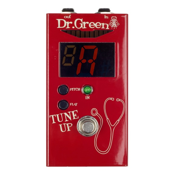 Ashdown Dr Green Tune Up - Tuner Pedal
