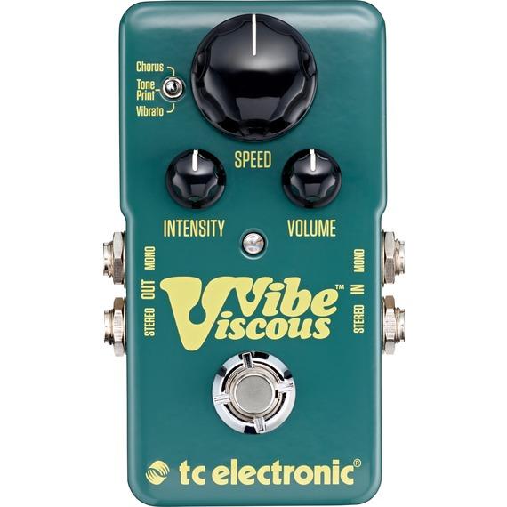 Tc Electronic Viscous Vibe - Uni-Vibe Pedal