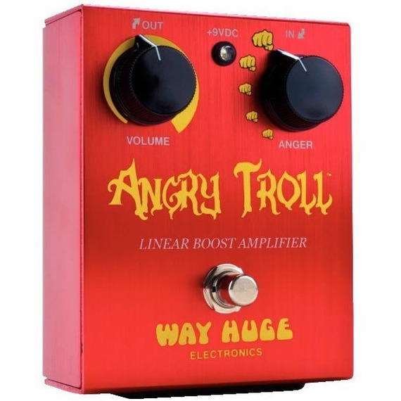 Way Huge Angry Toll - Linear Boost Amplifier Pedal
