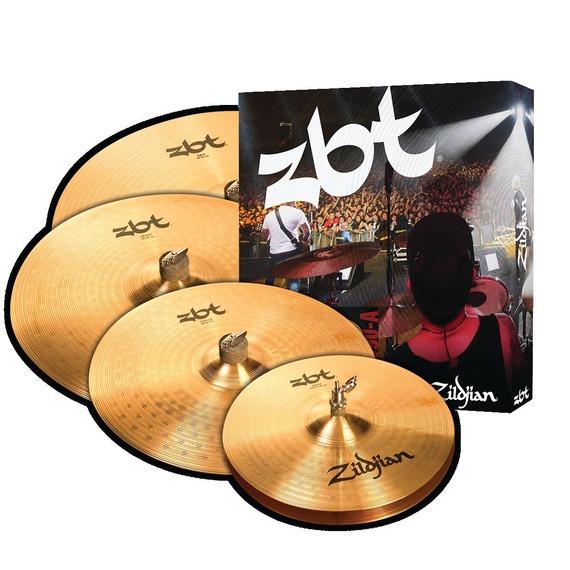 "Zildjian ZBT Promo Cymbal Pack 14"" Hi Hats, 16"" Crash, 20"" Ride with FREE 18"" Crash"