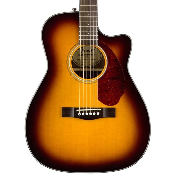 Fender CC140SCE Concert Electro Acoustic inc Hard Case - Sunburst
