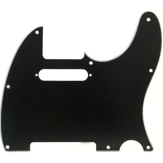 Fender Tele Pickguard 8 Hole 3 Ply