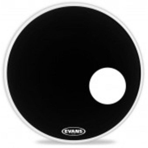 evans eq3 resonant onyx bass drum head giggear. Black Bedroom Furniture Sets. Home Design Ideas