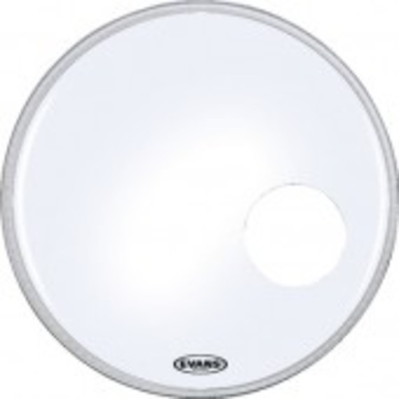 evans eq3 resonant coated white bass drum head giggear. Black Bedroom Furniture Sets. Home Design Ideas