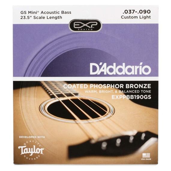 D'addario GS MINI Bass Guitar Strings - Phosphor Bronze 37-90