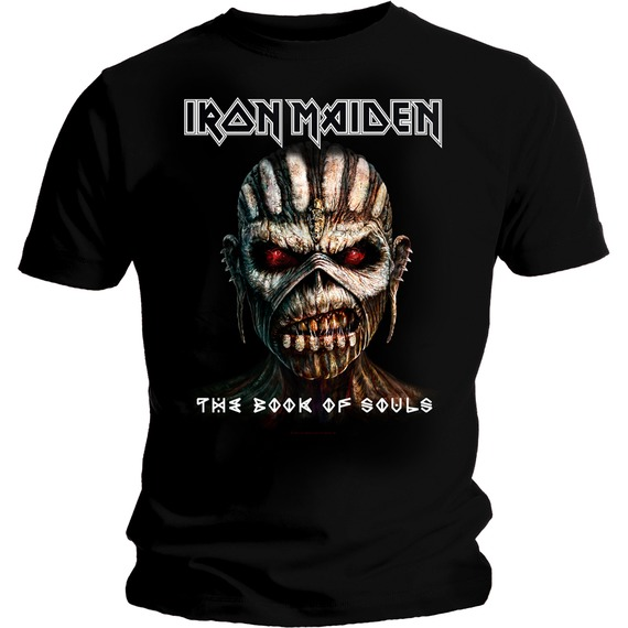 Official Iron Maiden Book of Souls T-Shirt
