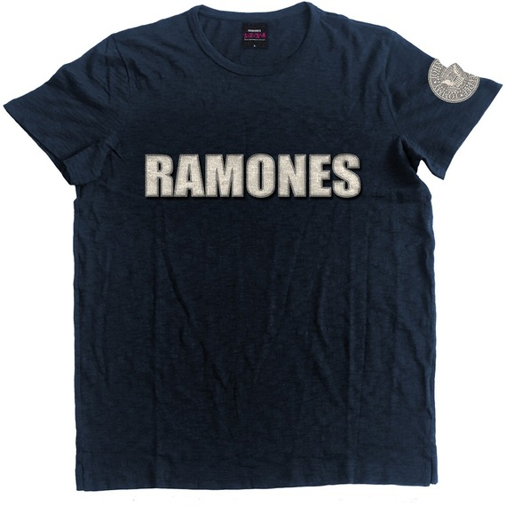Official Ramones Logo and Seal T-Shirt