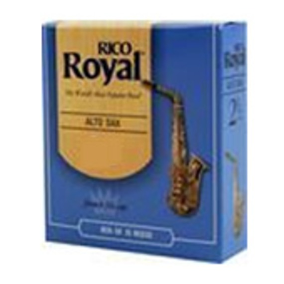 Rico Royal Alto Sax Reed - 10 Pack