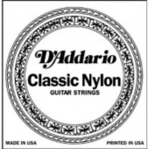 D'addario J27 Silverplated Wound Nylon Classical Single Strings