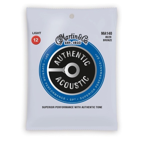 Martin Authentic Acoustic Strings SP 80/20 Bronze