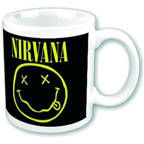 Official Nirvana Boxed Mug - Smiley