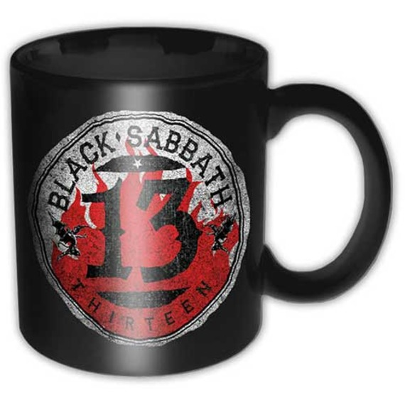 Official Black Sabbath Boxed Mug - 13 Flame Circle