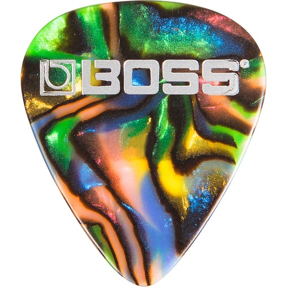 Boss Celluloid Pick Pack Abalone
