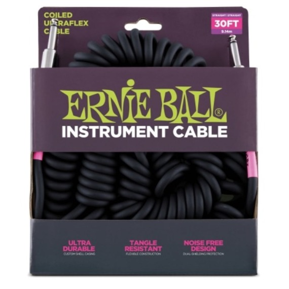Ernie Ball Instrument Coil Cable