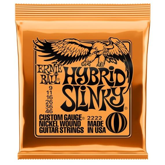 Ernie Ball Hybrid Slinky Guitar Strings 9-46