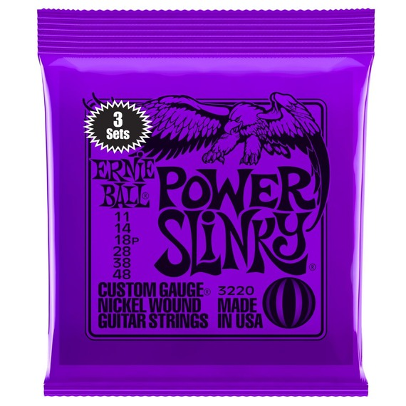 Ernie Ball Slinky Electric Guitar Strings - 3 Pack