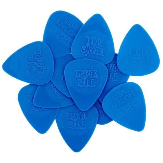 Ernie Ball Nylon Guitar Pick 12 Pack