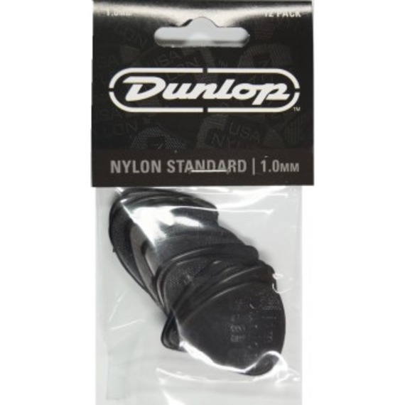 Jim Dunlop Nylon Standard 12 Pick Pack