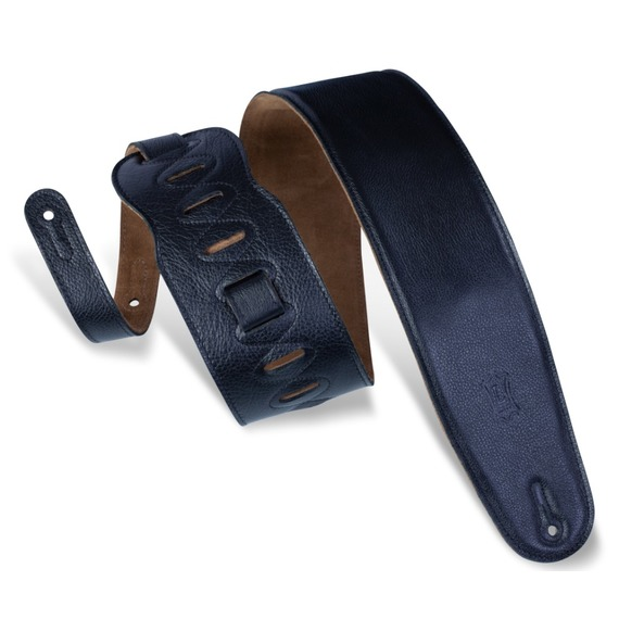 """Levy's Garment Leather Padded Guitar Strap 3.5"""""""