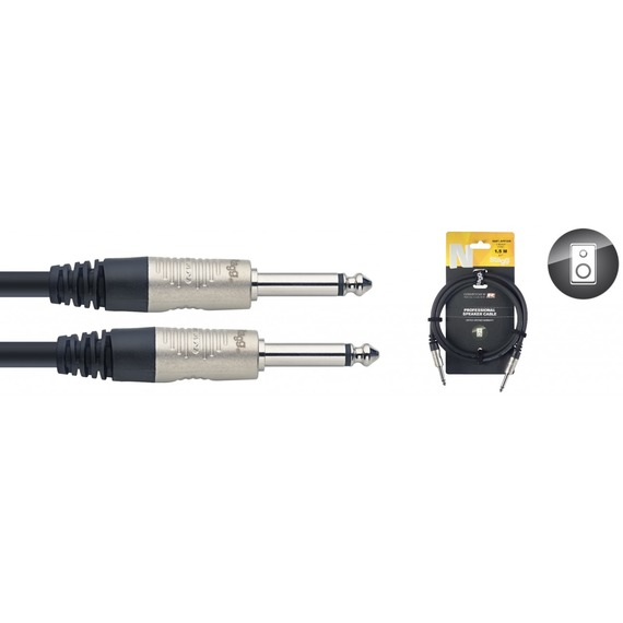 Stagg N Series 1.5mm Speaker Cable Jack - Jack