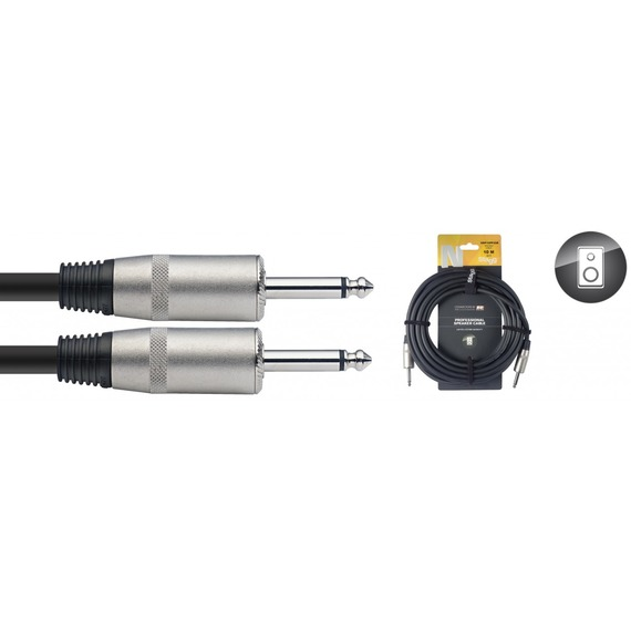 Stagg N Series 2.5mm Speaker Cable Jack - Jack