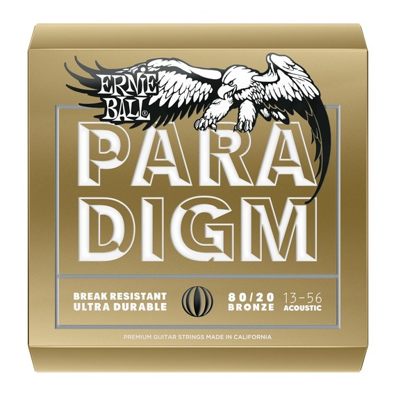 Ernie Ball PARADIGM 80/20 Bronze Acoustic Guitar Strings
