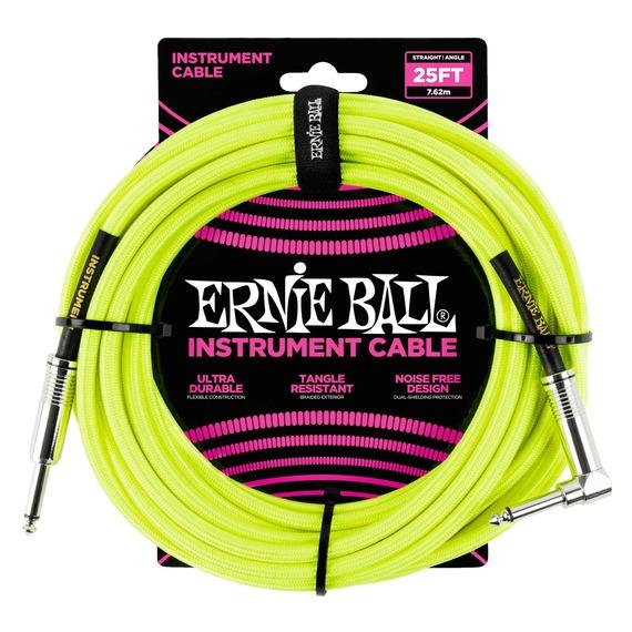 Ernie Ball Instrument Cable J-AJ 25 Foot