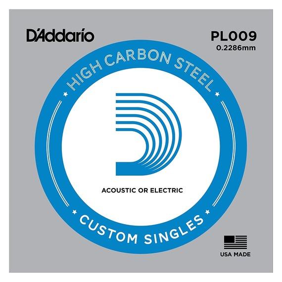 D'addario Plain Steel Single String - 5 PACK