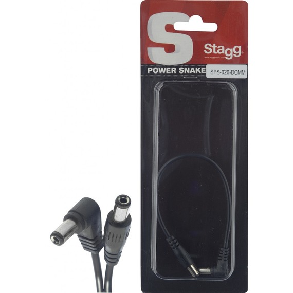 Stagg 1 Way Power Snake Pedal Extension Cord