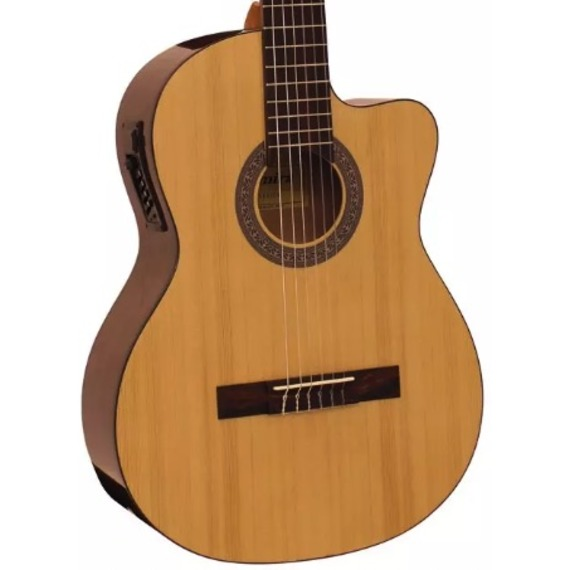 Admira Sara 4/4 Classical Electro Cutaway Guitar Solid Canadian Spruce Top
