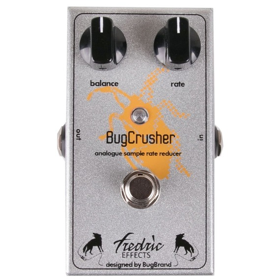 Fredric Effects Bug Crusher - Analogue Sample Rate Reducer Pedal