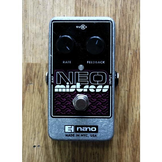 Electro Harmonix Neo Mistress Flanger pedal