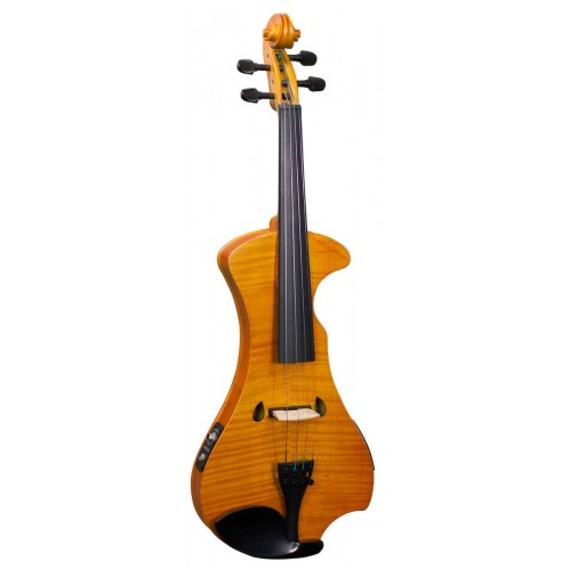Hidersine Electric Violin - Flamed Maple Veneer finish